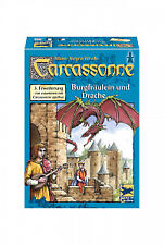 Carcassonne Burgfräulein und Drache 3. Erweiterung