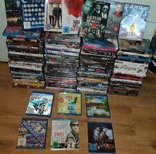 DVD Sammlung 100 Stück + 6 Blurays , kein Zeitungsmüll