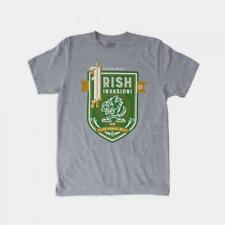 "Dethrone The ""Irish"" Invasion T-Shirt L Size"