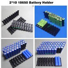 Battery Holder Plastic Case 18650 Cylindrical Cell Bracket Pack 2P10S