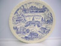 "VINTAGE SOUVENIR PLATE ""HISTORICAL SCENES OF SOUTH CAROLINA"