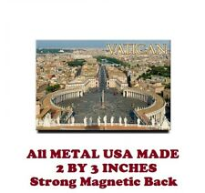 SM330- The Vatican Rome Poster 2 by 3 Inch Metal Refrigerator Magnet