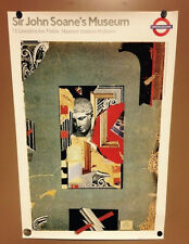 "Sir John Soane's Museum London Underground Limited Tube Poster 20"" x 30"""