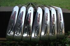 Vintage Rare Wilson 1966 Sam Snead Signature Irons  (7 Golf Clubs) Reg. #12485