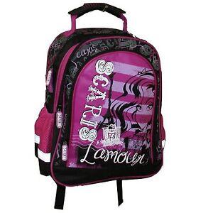 Monster High, Rucksack,ergono gepolsterter Rücken, für Kita,Schule,Freizeit, NEU
