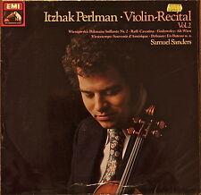 ITZHAK PERLMAN: Violin Recital Vol. 2-M1979LP GERMAN IMP RAFFI/WIENIAWSKI/+++