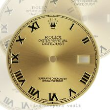 Original Rolex Factory  Datejust 36mm Champagne Dial with Roman Numeral