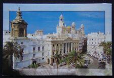 Cadiz Plaza de San Juan de Dios c2000's Postcard (P247)