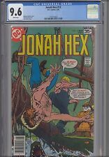 Jonah Hex #12 CGC 9.6 1977  DC Western Comic: Starlin Cover: New Frame
