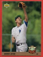 1993 Upper Deck #449 Derek Jeter NEAR MINT+ ROOKIE RC New York Yankees FREE S/H