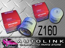 RYCO Z160 OIL FILTER FOR HOLDEN CALAIS COMMODORE VT VX VY VZ V8 LS1 5.7L GEN3