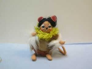 ANNALEE INDIAN MAIDEN MOUSE, GREAT FALL THANKSGIVING DECORATION ITEM
