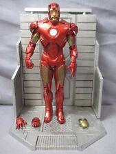 "Marvel IRONMAN MARK IV ARMOR 7"" Action Figure Border's Exclusive Diamond Select"