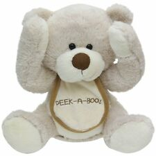 "NEW Cuddle Barn ""Peek A Boo Bear"" 11"" Animated Teddie Bear Song Plush"
