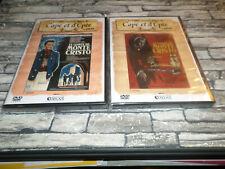 LE COMTE DE MONTE CRISTO - 1ere et  & 2eme epoque /  LOUIS JOURDAN / 2 DVD