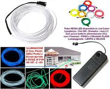 KATO TUBE NEON LED 3V BLUE' mm.2,3 FLEXIBLE + CONTROLLER BUILDINGS CASE DIORAMAS