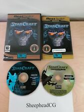 StarCraft & Brood War Expansion Set (PC CD-ROM) Complete with CD Key & Tested!