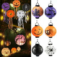 LED Halloween Pumpkin Spider&Bat String Fairy Lights Lantern Party Home Decor Sp