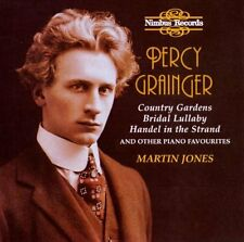 Percy Grainger-Country Gerden BRIDAL Lullaby/piano works Martin Jones OVP