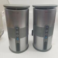 Pair of Sharper Image Indoor/Outdoor Wireless Speakers CT413