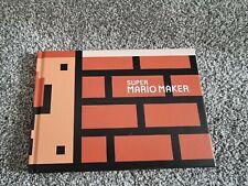 Super Mario Maker Art Book - Nintendo Wii U