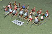 25mm classical / macedonian - pikemen 21 figs metal painted - inf (6784)