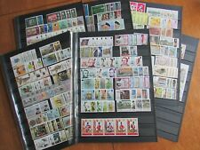 XL4908: St Helena:  Almost Complete 1967 to 1990 Mint Stamp Collection