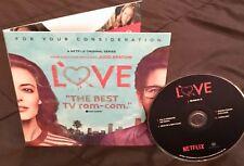 LOVE 2018 DVD Emmy FYC Paul Rust Gillian Jacobs Claudia O'Doherty Netflix