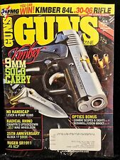 GUNS Magazine October 2011 Issue 98 pgs Feature Vimbar SR1911 Hunting Shooting