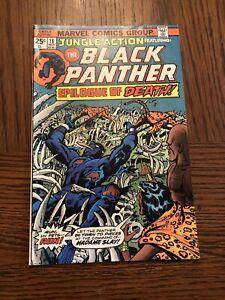 Jungle Action # 18 Marvel Comics 1975 Featuring Black Panther / Madam Slay