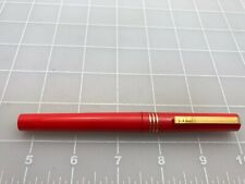 Judd's Very Nice Red Osmiroid Fountain Pen w/Fine Nib