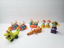 Vintage 1998 Nickelodeon Rugrats Movie Burger King Set of 8 Toys Kids Club Meal