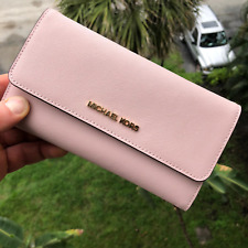 Michael Kors Large Trifold Wallet - Blossom