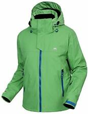 * Trespass Men's Larry Ski Jacket green blue zip size medium *REF173