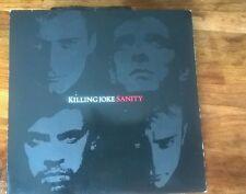 "KILLING JOKE Sanity 7"" Single Original Vinyl 1986 EGO30 Virgin"