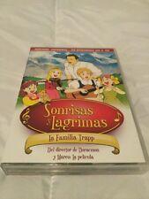 Sonrisas y Lagrimas La Familia Trapp Serie Tv Anime Completa 6 DVD