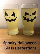 Halloween Party Spooky Cup Wine Glass Bottle Wall Decoration Window Stickers x12