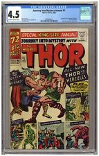 Journey into Mystery Annual #1 (CGC 4.5) Thor; 1st app. Hercules and Zeus; Kirby