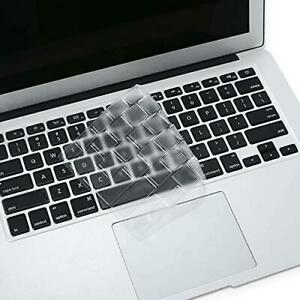 MOSISO Ultra Thin Keyboard Cover TPU Skin Compatible with MacBook Air 13 inch