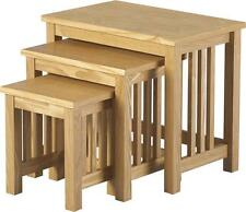 Solid Wood More than 200cm Width Modern Tables