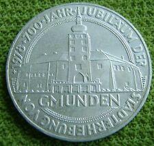 "1978 Austria - Oostenrijk 100 schilling ""700th Anniversary of Gmunden"""