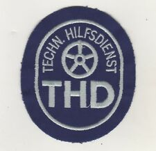 Uniform Sew-On Patches Technical Assistance THD