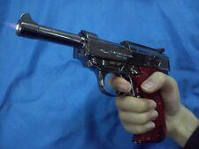 Lighter gun lifesize WWI Mauser Bundeswehr pistol movie prop cosplay Walther P38