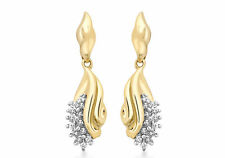 Unbranded Cluster Yellow Gold Fine Earrings