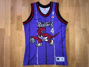 Esposito Toronto Raptors LARGE Youth Champion NBA Jersey Trikot shirt B203