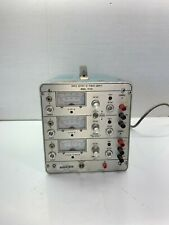 Power Design Tp340 Laboratory Benchtop Triple Output Regulated Dc Power Supply