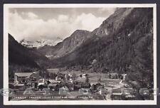 VERBANIA FORMAZZA 160 VALDO - PONTE - OSSOLA Cartolina FOTOGRAFICA viagg. 1948
