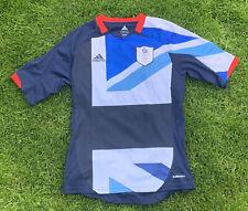 Team GB Football Shirt Adidas London 2012 Olympics 50p Mens Size Small Team GB