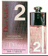 CHRISTIAN DIOR ADDICT 2 GIRLY COLLECTOR Women  1.7OZ 50ml EDT Spray 2006