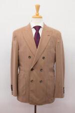 NWT$7445 Brunello Cucinelli Cashmere-SilkWool Pinstripe DB 2Pc Suit 48/38US A201